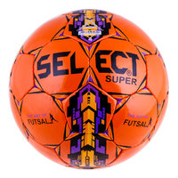 Мяч футзальный Select Super Duxon Orange Purple