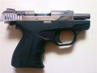 Пистолет стартовый Stalker 906M хромированный