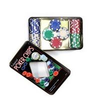 Дартс, покер, игры, Фишки для покера 100шт