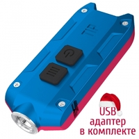 Фонарь Nitecore TIP Winter Edition red-blue