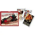 """Piatnik, Карты игральные """"Propaganda - Train, Bridge"""""""