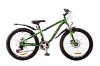 "Велосипеды Discovery, Велосипед Discovery FLINT AM 14G DD 24"" St зелено-черный 2018"