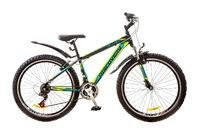 """Велосипед Discovery TREK AM DD 14G 26"""" рама-18"""" St черно-сине-зеленый с крылом Pl 2017"""
