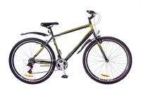 "Велосипед Discovery ATTACK 14G Vbr 29"" St черно-серо-зеленый 2017"