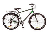"Велосипед Discovery PRESTIGE Man Vbr 14G 29"" St серо-черно-зеленый"