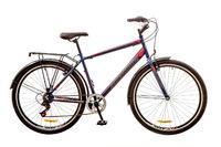 """Велосипед Discovery PRESTIGE Man Vbr 14G 29"""" St сине-серо-красный"""