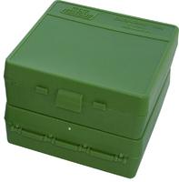 Кейс для патронов MTM кал. 7,62x25; 5,7x28; 357 Mag Green