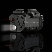 Целеуказатель лазерный Crimson Trace CMR-205 RAIL MASTER PRO с фонарем на планку Weaver/Picatinny. Красный