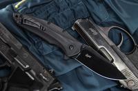 Kizlyar Supreme KE ZED2B Нож туристический Zedd Черный D2