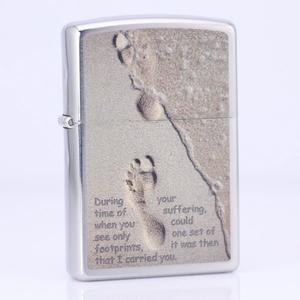 Зажигалки Zippo, Зажигалка Zippo Footprints on sand