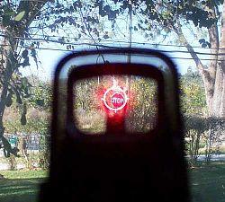 Пристрелка коллиматорного прицела